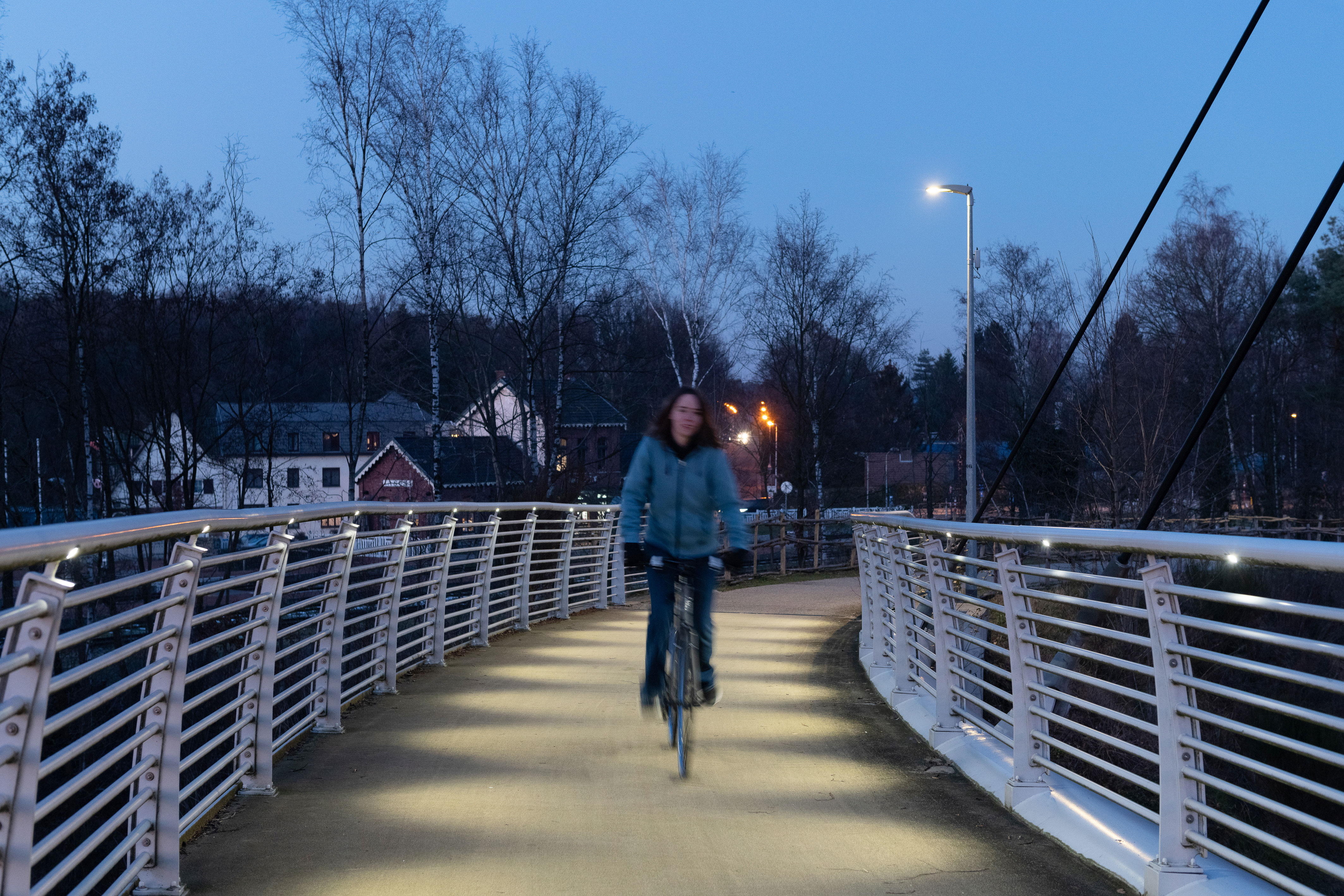 Teceo provides sustainable lighting solution for this bike path in As